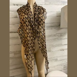 Dolce  & cabbana women  authentic  brand scarf